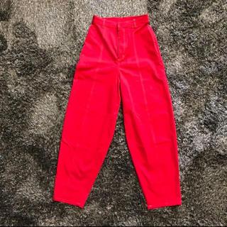 ハレ(HARE)のHARE RED ワイドカーブパンツ(カジュアルパンツ)