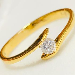 k18 ダイヤモンドリング 8.5号 (リング(指輪))