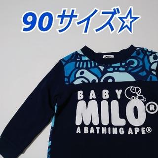 A BATHING APE - 美品 ベイプ キッズ 90