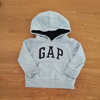 babyGAP - Baby gap ロゴパーカー 裏起毛トレーナー 80cm