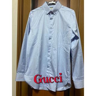 Gucci - 新品未使用タグ付き Gucci グッチ ドレス シャツ ワイ シャツ