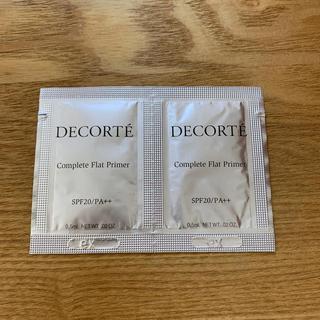 コスメデコルテ(COSME DECORTE)のコスメデコルテ 化粧下地、ファンデーションサンプル(サンプル/トライアルキット)