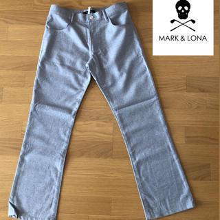 マークアンドロナ(MARK&LONA)のMARK&LONA  グレー ゴルフパンツ M メンズ(ウエア)