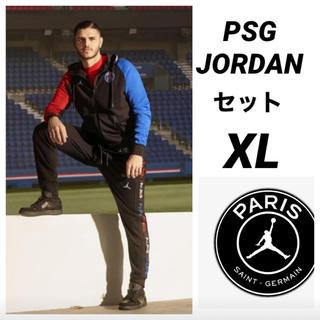 NIKE - PSG JORDAN NIKE パーカーセットアップ XL