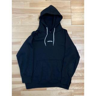 アシックス(asics)の【中古】ballaholic Logo sweat hoodie XXL 黒(パーカー)