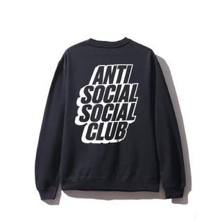 アンチ(ANTI)のアンチソーシャルソーシャルクラブ BLOCKED BLACK CREWNECK (スウェット)