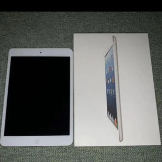 iPad - iPad mini Wi-fi 16GB White 初代 未使用に近い