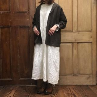nest Robe - ネストローブ リネンベンガル墨汁ジャケット