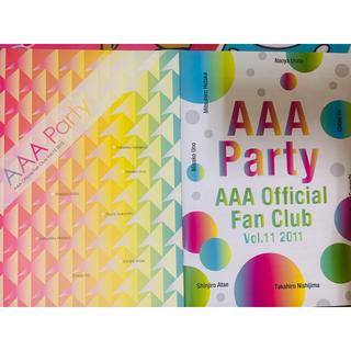 AAA - AAA 会報誌 VOL.11 VOL.12 2点