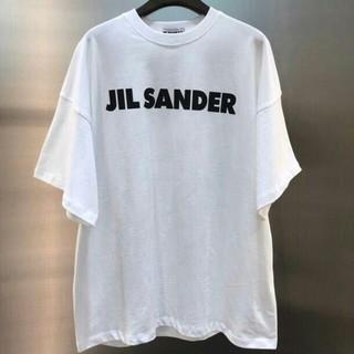 Jil Sander - JIL SANDER ジルサンダー オーバーサイズ ロゴ Tシャツ