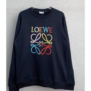 ロエベ(LOEWE)の【LOEWE】☆ブラック アナグラム スウェットシャツ☆(トレーナー/スウェット)