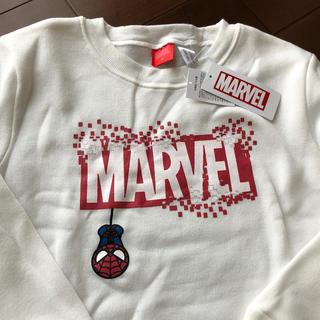 MARVEL - マーベル スパイダーマン トレーナー140 ホワイト