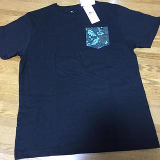 クイックシルバー(QUIKSILVER)のクイックシルバー  Tシャツ ブラック(Tシャツ/カットソー(半袖/袖なし))