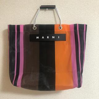 Marni - Marni フラワーカフェトートバッグ マルチピンク