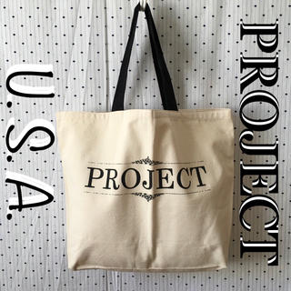 バーニーズニューヨーク(BARNEYS NEW YORK)のPROJECTプロジェクトショー US限定 展示会 非売品 トートバッグ(トートバッグ)