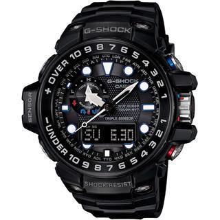 ジーショック(G-SHOCK)のカシオ G-SHOCK ガルフマスター 電波ソーラー 腕時計 ブラック(腕時計(アナログ))