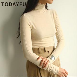 TODAYFUL - Soft Turtleneck Tops todayful
