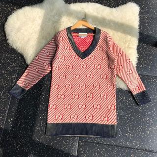 Gucci - Gucci★素敵!Oversized GG stripe wool sweate
