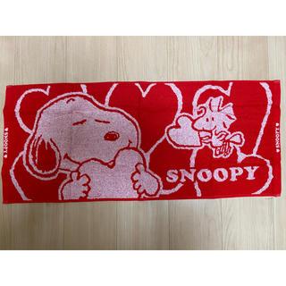 SNOOPY - ローソン スヌーピー ふんわりタオル タオル