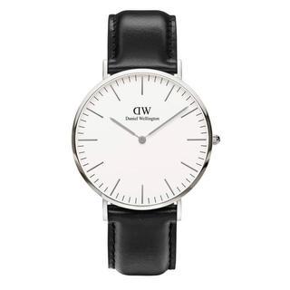 ダニエルウェリントン(Daniel Wellington)の安心保証付き【40㎜】ダニエルウエリントン 腕時計〈DW00100020〉(腕時計(アナログ))