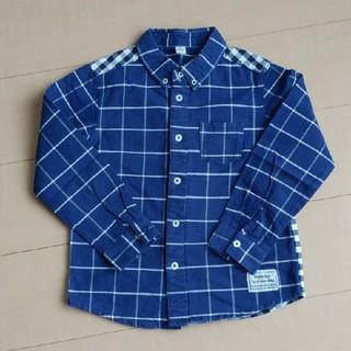 エフオーキッズ(F.O.KIDS)のキッズ 切り替えシャツ 130㎝(ブラウス)