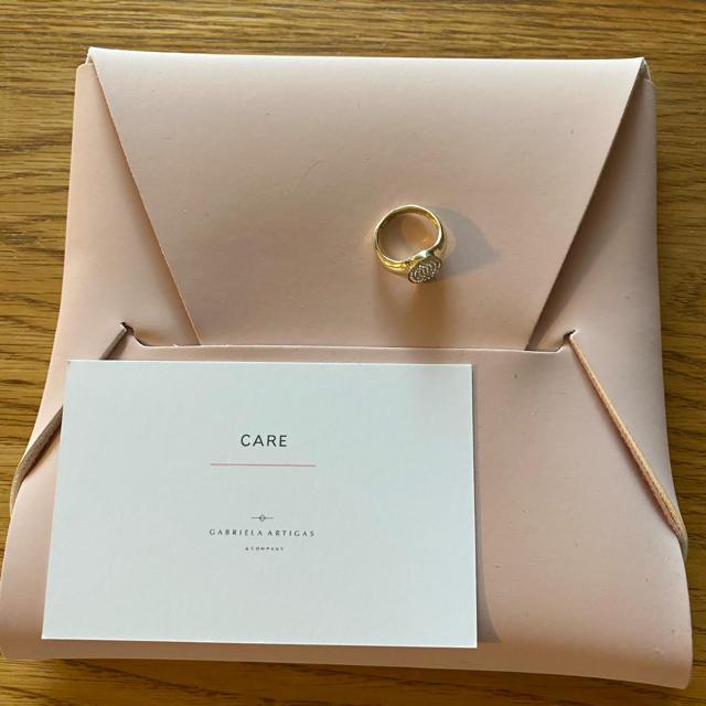 L'Appartement DEUXIEME CLASSE(アパルトモンドゥーズィエムクラス)の アパルトモン GABRIELA ARTIGAS シグネットピンキーリング 新品 レディースのアクセサリー(リング(指輪))の商品写真