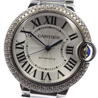 カルティエ(Cartier)のカルティエ バロンブルーMM W6920046 ボーイズ 【中古】(腕時計(アナログ))