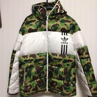 adidas - Mサイズ adidas BAPE SHARK DOWN JACKET