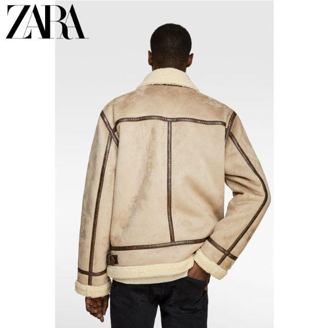 ZARA(ザラ)の08.ZARA Men's ダブルサイドジャケット 国内発送 送料込 メンズのジャケット/アウター(Gジャン/デニムジャケット)の商品写真