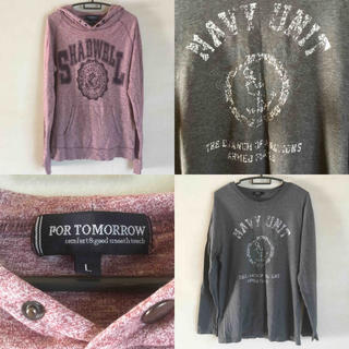 ギャップ(GAP)の✦はるき様専用✦まとめ売り✦メンズカットソー2点セット✦(Tシャツ/カットソー(七分/長袖))