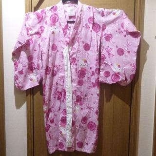 ハローキティ(ハローキティ)のハローキティ 浴衣 サイズ100 <a513>(甚平/浴衣)