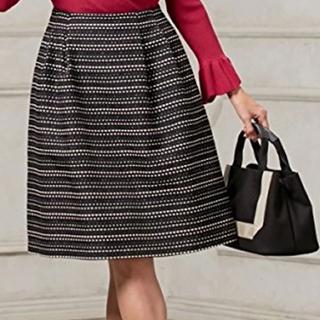 トッカ(TOCCA)のTOCCA ツィードスカート(ひざ丈スカート)