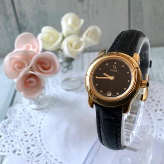 FENDI - 【動作OK】FENDI フェンディ 腕時計 810L ゴールド レディース