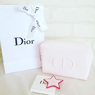 Christian Dior - 【新品未使用】クリスチャンディオールポーチ ミラーセット