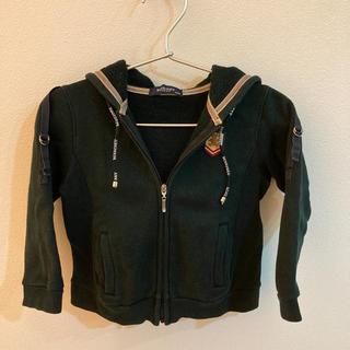 バーバリー(BURBERRY)のバーバリー パーカー ブラック 90サイズ(ジャケット/上着)