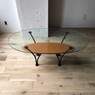 アクタス(ACTUS)のACTUS ガラス天板センターテーブル(ローテーブル)