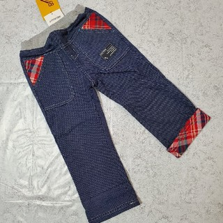 キムラタン(キムラタン)のラキエーベ☆裾折り返しパンツ(パンツ/スパッツ)