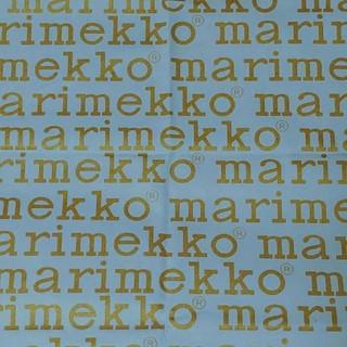 マリメッコ(marimekko)のマリメッコ ロゴ 85/135 キャンバス生地 布生地 はぎれ (生地/糸)