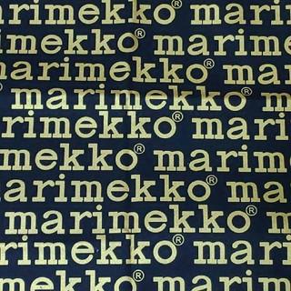 マリメッコ(marimekko)のマリメッコ ロゴ 85/135 キャンバス生地 布生地 はぎれ(生地/糸)