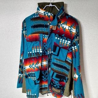 サカイ(sacai)のサイズ3 Sacai Pendleton Jacket サカイ ペンドルトン(ミリタリージャケット)