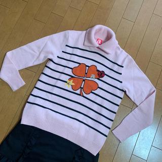 パーリーゲイツ(PEARLY GATES)のアルチビオ セーター 38 超美品(ウエア)