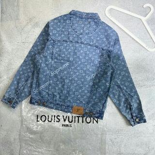 ルイヴィトン(LOUIS VUITTON)のデニムジャケットを水洗いして男女同型(Gジャン/デニムジャケット)