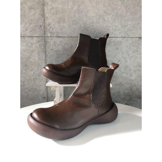 Regetta Canoe(リゲッタカヌー)の【消費税還元 / 送料無料】リゲッタカヌー CJFG1123 Lサイズ BRN レディースの靴/シューズ(ブーツ)の商品写真