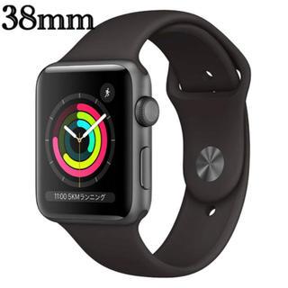 アップルウォッチ(Apple Watch)のApple Watch Series 3 (GPSモデル)38mm(腕時計(デジタル))