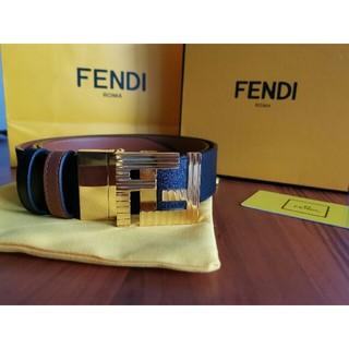 フェンディ(FENDI)の送料無料 「フェンディ」 ベルト ブラック 110CM(その他)
