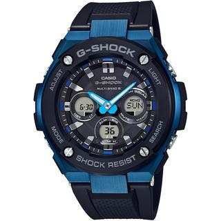 ジーショック(G-SHOCK)のカシオ G-SHOCK Gス ミドルサイズ 電波ソーラー 腕時計 ブラック(腕時計(アナログ))