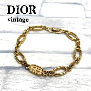クリスチャンディオール(Christian Dior)のオールド ディオール   ゴールド色 ブレスレット(ブレスレット/バングル)