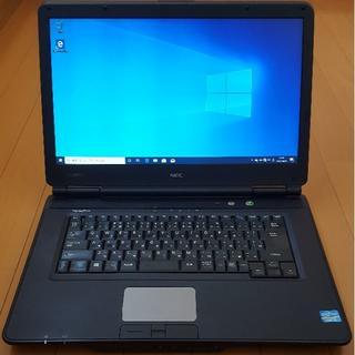 エヌイーシー(NEC)の【Windows 10 pro】NEC バーサプロ タイプVX ノートpc(ノートPC)