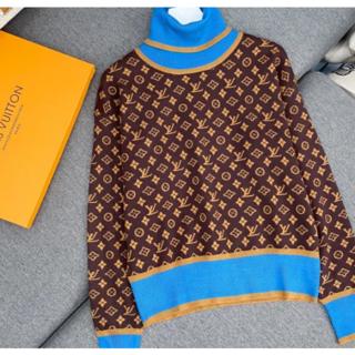ルイヴィトン(LOUIS VUITTON)のLouis Vuitton☆モノグラムハイネック ニットセーターS(ニット/セーター)