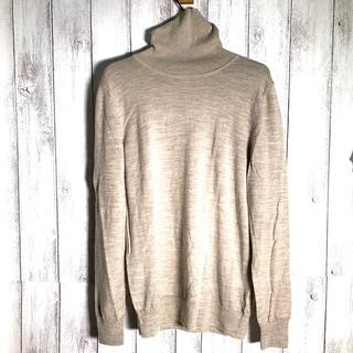 ムジルシリョウヒン(MUJI (無印良品))のMUJI 無印良品 (XL) ニット セーター  タートルネック ウール(ニット/セーター)